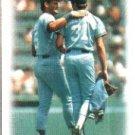 1988 Topps 141 George Brett/Bret Saberhagen TL