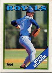 1988 Topps 301 Bud Black