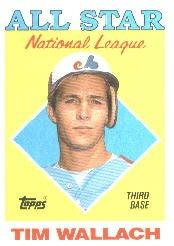 1988 Topps 399 Tim Wallach AS