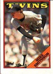1988 Topps 554 Mike Smithson