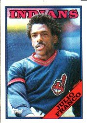 1988 Topps 683 Julio Franco