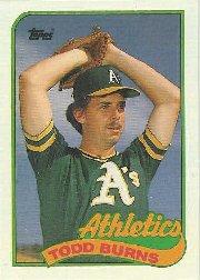 1989 Topps 174 Todd Burns