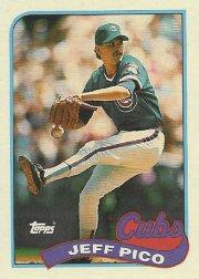 1989 Topps 262 Jeff Pico