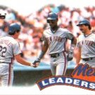 1989 Topps 291 Darryl Strawberry/Keith Hernandez/Kevin McReynolds