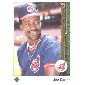 1989 Upper Deck 190 Joe Carter