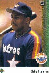 1989 Upper Deck 344 Billy Hatcher