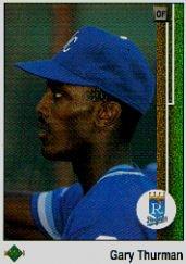 1989 Upper Deck 347 Gary Thurman
