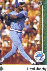 1989 Upper Deck 381 Lloyd Moseby