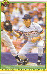 1990 Bowman 355 Dave Bergman