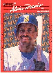 1990 Donruss Bonus MVP's #BC9 Alvin Davis