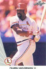 1990 Leaf 44 Pedro Guerrero