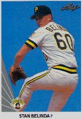 1990 Leaf 486 Stan Belinda RC