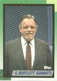 1990 Topps 396 A.Bartlett Giamatti/COMM MEM
