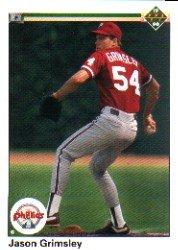 1990 Upper Deck 27 Jason Grimsley RC