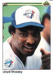 1990 Upper Deck 421 Lloyd Moseby
