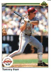 1990 Upper Deck 488 Tommy Herr