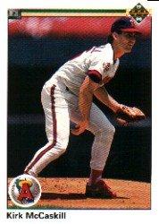 1990 Upper Deck 506 Kirk McCaskill