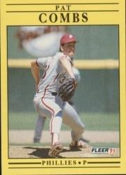 1991 Fleer 392 Pat Combs