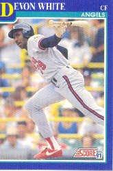 1991 Score 466 Devon White
