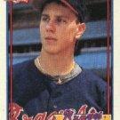 1991 Topps 227 Steve Avery UER