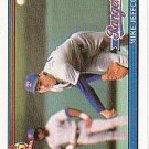 1991 Topps 244 Mike Jeffcoat