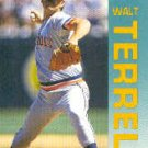 1992 Fleer 146 Walt Terrell