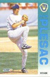 1992 Fleer 185 Dan Plesac