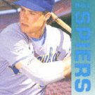 1992 Fleer 189 Bill Spiers