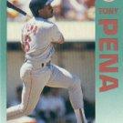 1992 Fleer 43 Tony Pena
