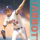 1992 Fleer 51 Kyle Abbott