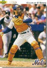 1992 Upper Deck 381 Charlie O'Brien