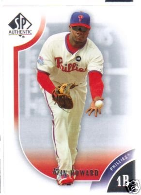 2009 SP Authentic 6 Ryan Howard