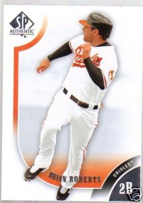 2009 SP Authentic 64 Brian Roberts