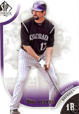 2009 SP Authentic 69 Todd Helton
