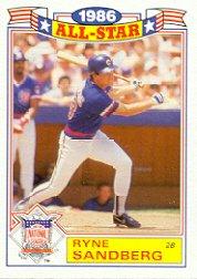 1987 Topps Glossy All-Stars #3 Ryne Sandberg