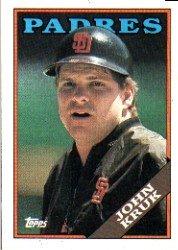 1988 Topps 596 John Kruk