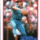 1989 Topps 494 Shane Rawley