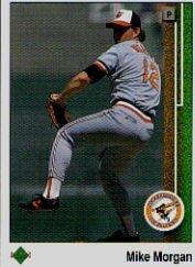 1989 Upper Deck 653 Mike Morgan