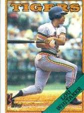 1988 Topps 770 Lou Whitaker