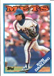 1988 Topps 685 Ron Darling