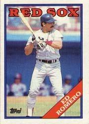 1988 Topps 37 Ed Romero