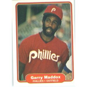 1982 Fleer 248 Garry Maddox