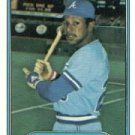 1982 Fleer 439 Rufino Linares RC