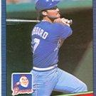 1986 Donruss 141 Glenn Hubbard