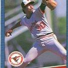 1986 Donruss 454 Dennis Martinez