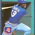 1986 Donruss 627 Terry Harper