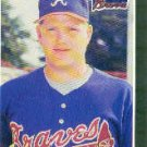 1989 Donruss 653 Derek Lilliquist RC