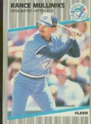 1989 Fleer 242 Rance Mulliniks
