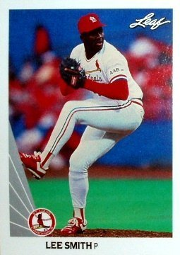 1990 Leaf 524 Lee Smith