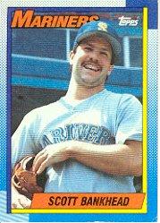 1990 Topps 213 Scott Bankhead